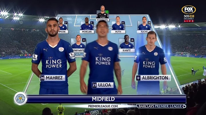 EPL Classic Match – Leicester v Chelsea – 14th December 2015