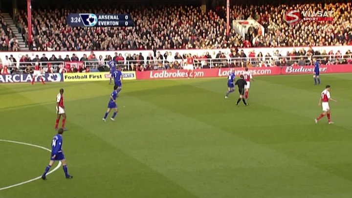 EPL Classic Match – Arsenal v Everton – 11th May 2005