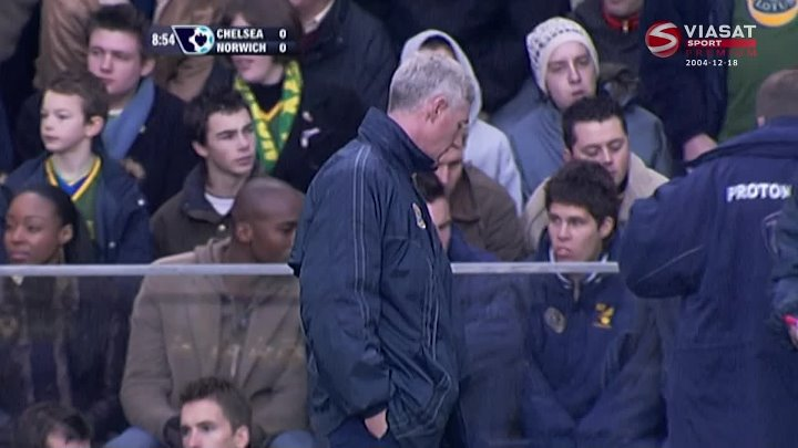 EPL Classic Match – Chelsea v Norwich – 18th December 2004