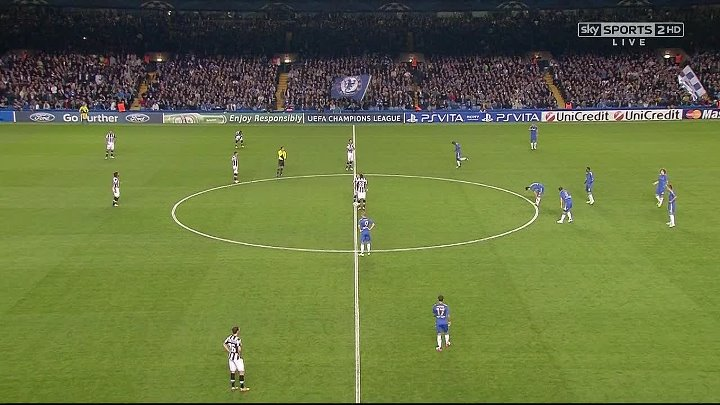 UCL Classics – Chelsea v Juventus – 19th September 2012