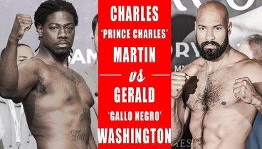 Charles Martin vs. Gerald Washington / Чарльз Мартин - Джеральд Вашингтон