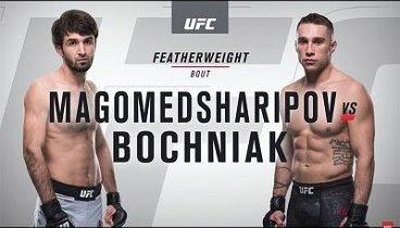 Забит Магомедшарипов vs Кайл Бочняк / Magomedsharipov vs Bochniak