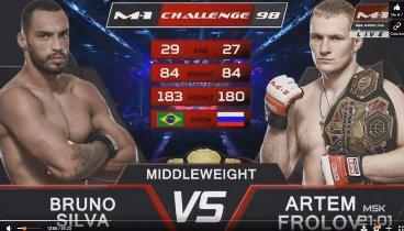 M-1 Challenge 98: Бруно Сильва - Артем Фролов / Frolov vs. Silva