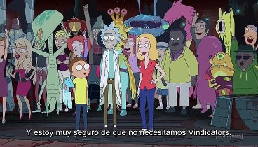Rick y Morty Temporada 03 Capitulo 04 - Vindicators