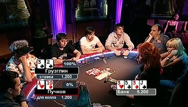 Русская Схватка 1 / Russian Fight Full Tilt Poker. Ep4