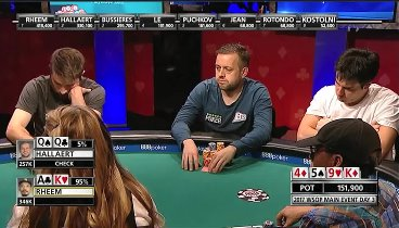 WSOP 2017: Main Event, Day 3 - Highlights. HD