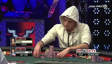 WSOP 2011 Main Event FINAL TABLE Live E3