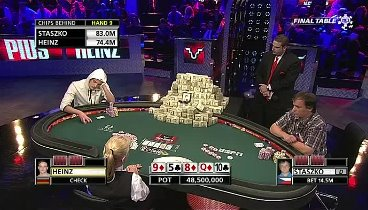 WSOP 2011 Main Event FINAL TABLE Live E4