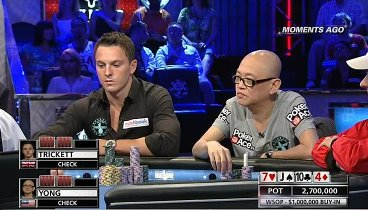 The Big One - WSOP 2012: Event #55, buy-in $1 000 000. Episode 1