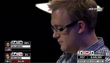 WSOP 2012- Main Event. Ep17-18, Day 6