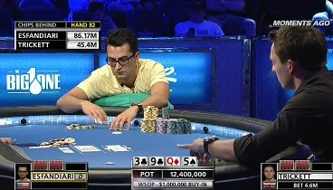 The Big One - WSOP 2012: Event #55, buy-in $1 000 000. Episode 2