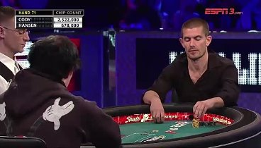 2011 WSOP 25k Heads-Up: Jake Cody vs. Gus Hansen. Ep2