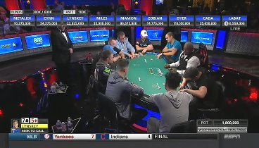 WSOP 2018: Main Event FINAL TABLE. Day 1 - Online Video