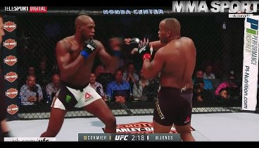 Jon Jones vs. Daniel Cormier. HD / Джон Джонс - Даниэль Кормье