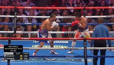 Manny Pacquiao vs. Keith Thurman / Мэнни Пакьяо - Кит Турман