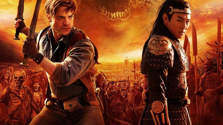 """Мумия 3: Гробница Императора Драконов"" _ (2008) Фэнтези, боевик, триллер, приключения. HD 1080p."