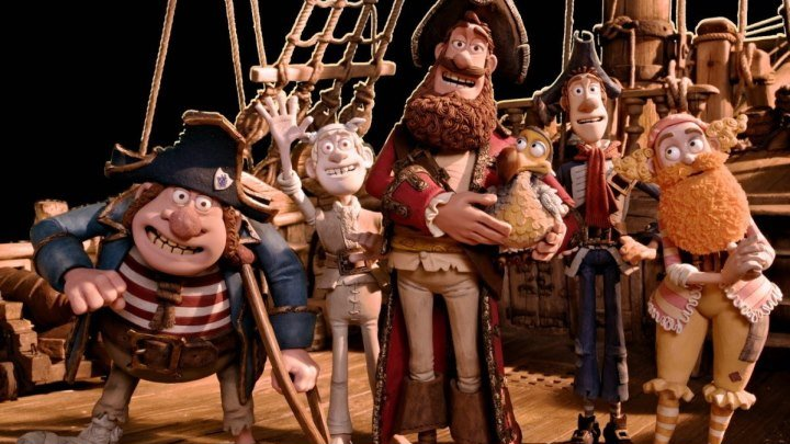 Пираты.Банда неудачников (2012) Прикольный Мульт