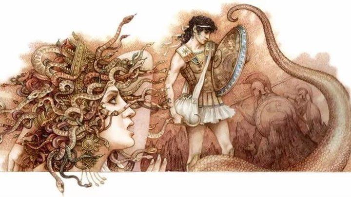 Мифы древней Греции. Персей и Медуза Горгона.