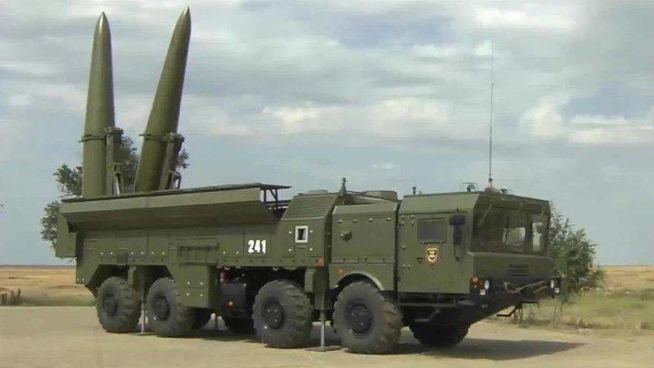 Ракетный комплекс «Искандер М» 11.02.2018 HD