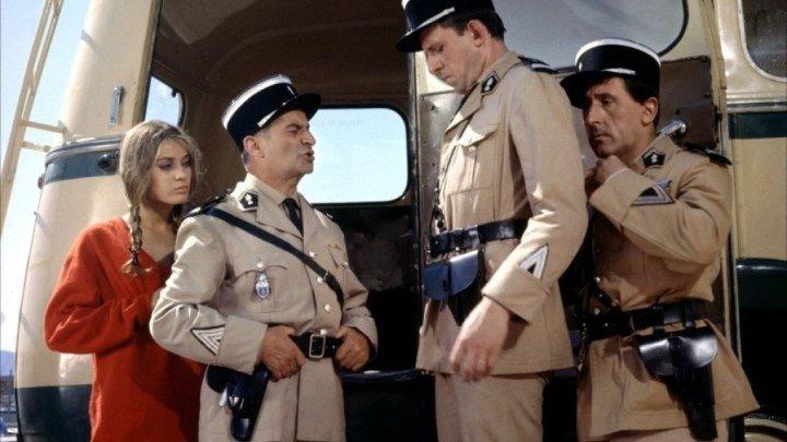 Луи де Фюнес в комедии Жандарм из Сен-Тропе.
