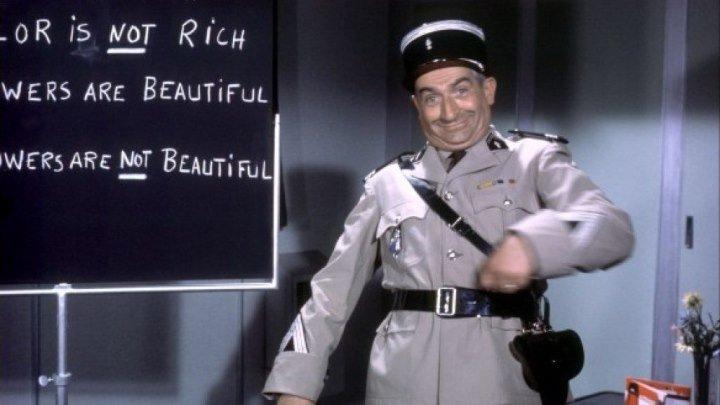 Луи де Фюнес в комедии Жандарм в Нью-Йорке