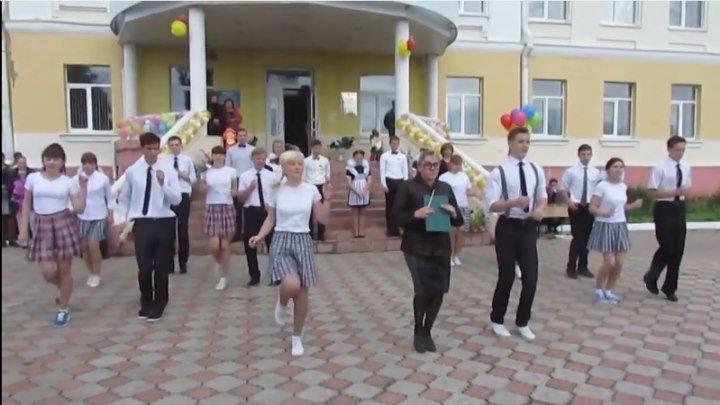 Зажигательный танец!!! УЧИТЕЛЬНИЦА - МОЛОДЕЦ!!!