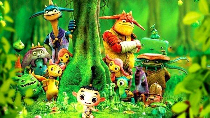 Монстры на острове 2011 мультфильм, фэнтези, приключения