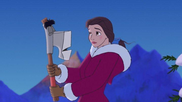 Красавица и Чудовище: Чудесное Рождество / Beauty and the Beast: The Enchanted Christmas, мультфильм, 1997 HD