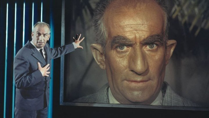 """Фантомас"" (Трилогия,1964-1966) HD Советский дубляж"