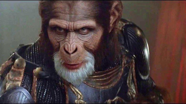Планета обезьян . фантастика, боевик, триллер, приключения