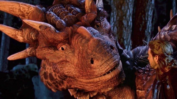 Сердце дракона (1996) HD 720p фэнтези, боевик, драма, приключения