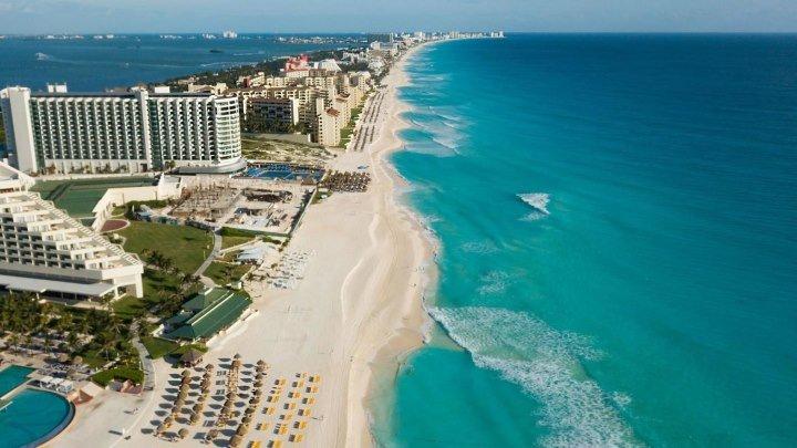 Канкун — самое посещаемое место в Карибском бассейне (Мексика)