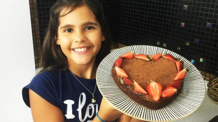 Шоколадный торт к чаю от Софии 9 лет.
