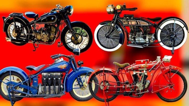 История мотоциклов какие были самые первые мотоциклы и как они совершенствовались ᴴᴰ