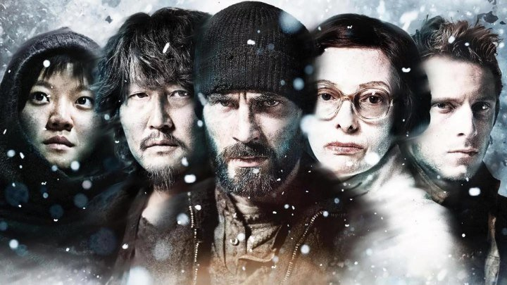 Сквозь снег. фантастика, боевик, драма