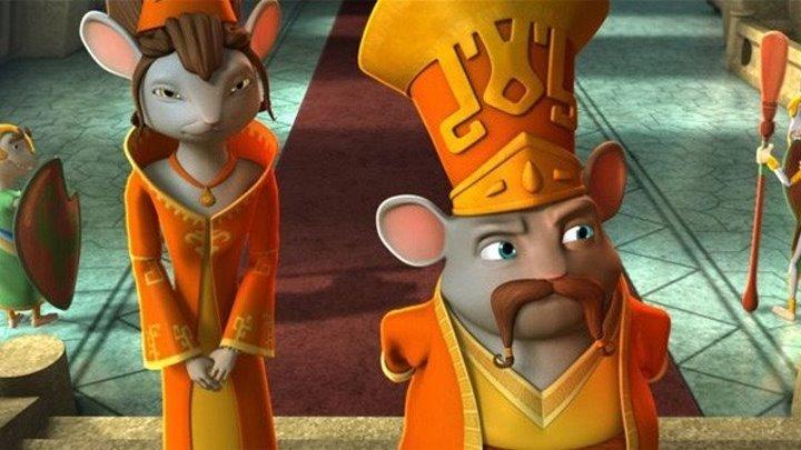 Приключения мышонка Переса. Комедия, мультфильмы, семейный.