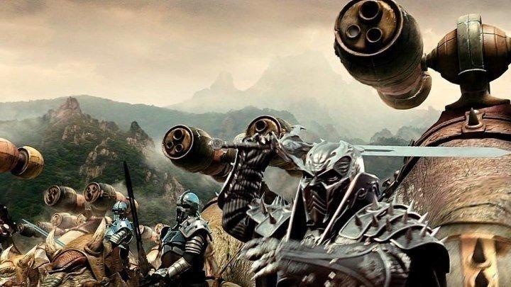 Война динозавров / ужасы, фэнтези, боевик