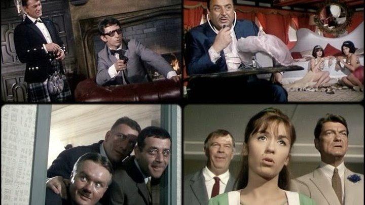 Святой выходит на след (Франция, Италия 1966) Авантюрная комедия ツ