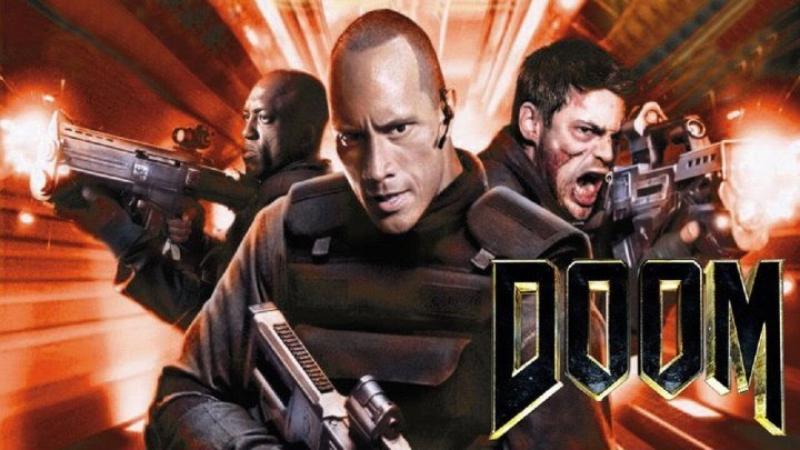 ДУМ. 2005 HD боевик,триллер,фантастика