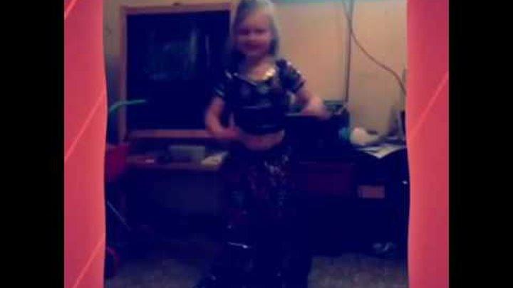 Детский канал. Индийский танец Анастасии