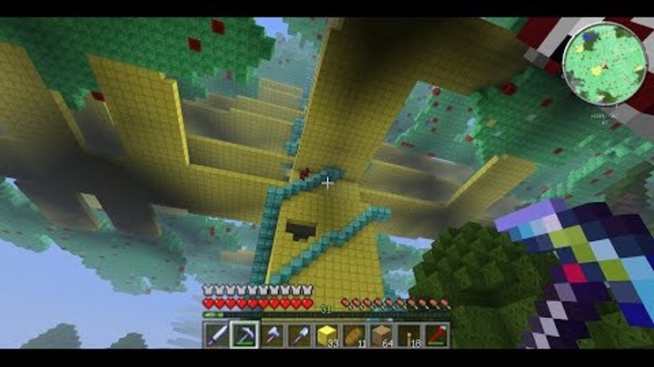 как найти алмазное дерево в майнкрафте #7