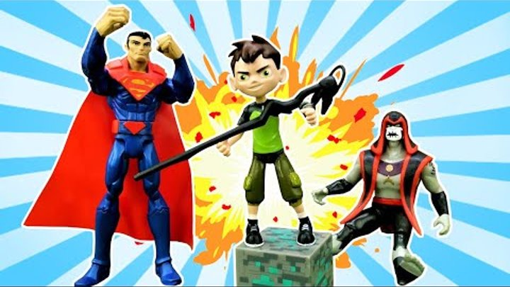 Ben 10 and Superman vs Jonah Hex: Omniverse Superheroes