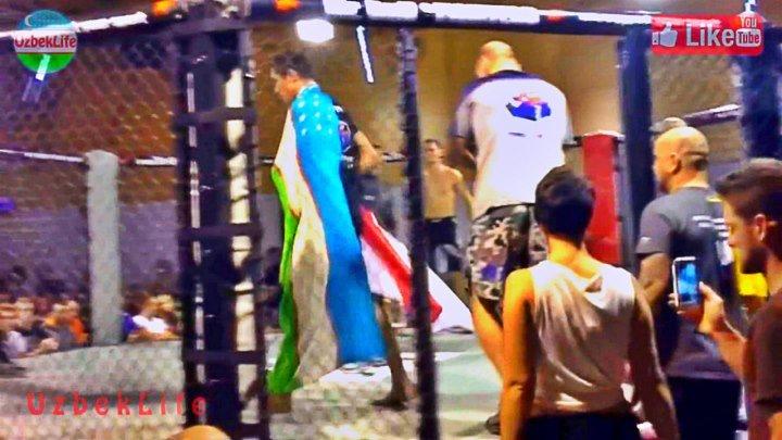 Ўзбек Чемпион MMA нокаут - UzbekLife - YouTube