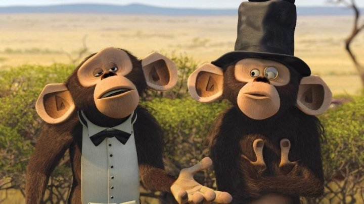 мадагаскар 2 --- обезьяньи парочки серия 1