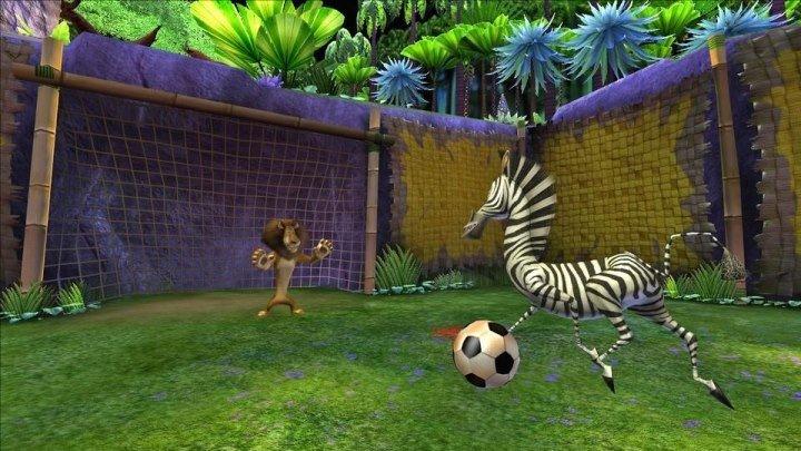 мадагаскар 2 --- футбол
