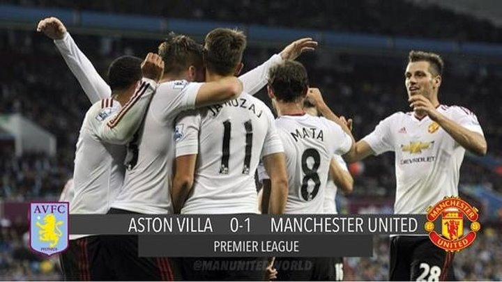 АПЛ 2-тур, Астон Вилла 0-1 Манчестер Юнайтед (15.08.15)