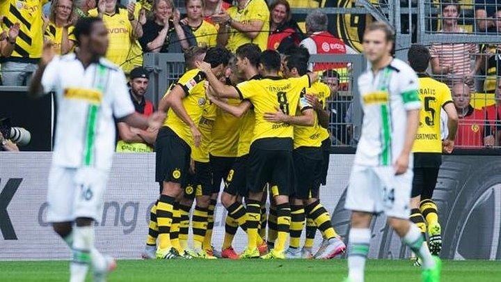 Бундеслига 1-тур, Боруссия Дортмунд 4-0 Боруссия Мёнхенгладбах (15.08.15)