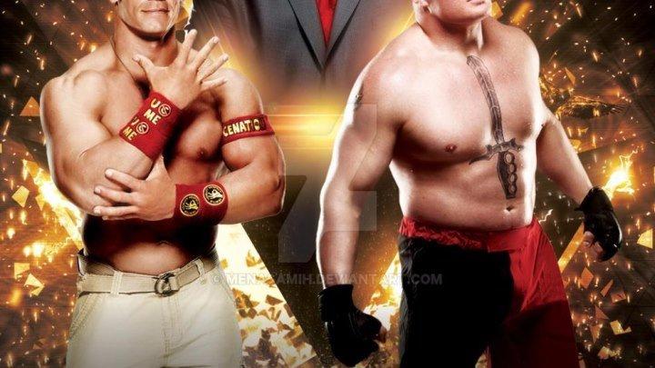 Brock Lesnar vs John Cena Feud 2014 - Highlights HD