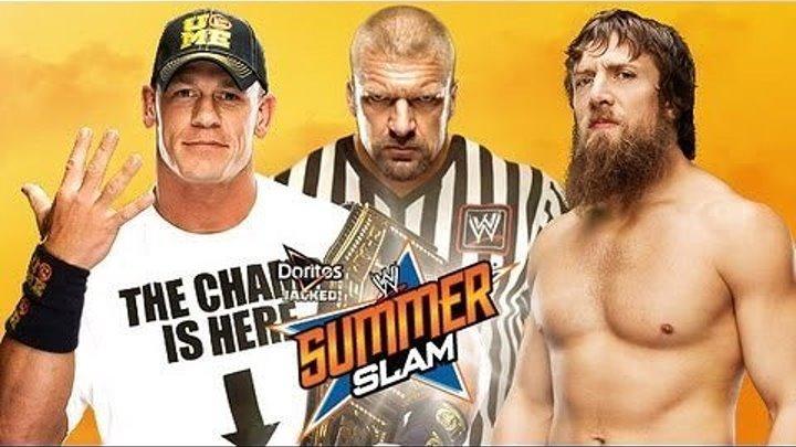Daniel Bryan vs. John Cena - WWE Championship Match SummerSlam 2013 - Highlights
