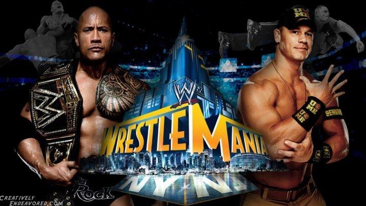 John Cena vs The Rock - WrestleMania 29 - Highlights HD